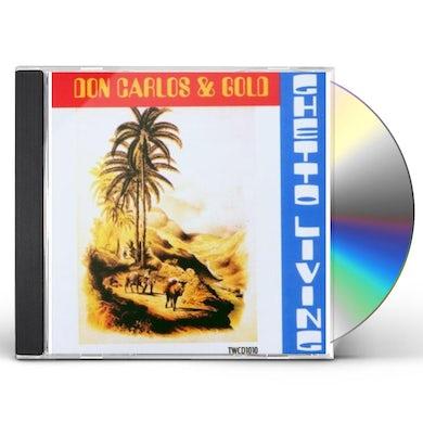 Don Carlos GHETTO LIVING CD