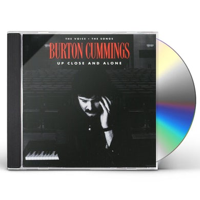Burton Cummings UP CLOSE & ALONE CD