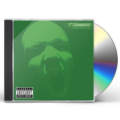 Limp Bizkit RESULTS MAY VARY CD