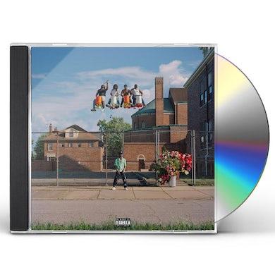 Big Sean Detroit 2 CD
