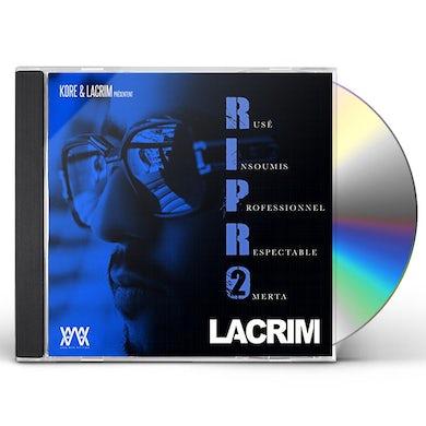 Lacrim R.I.P.R.O VOLUME 2 CD