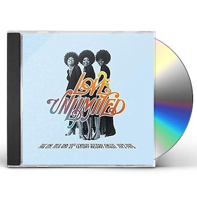 Love Unlimited UNI MCA & 20TH CENTURY RECORDS SINGLES 1972-1975 CD