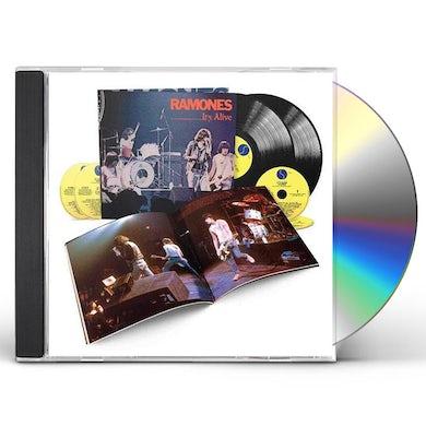 Ramones IT'S ALIVE (40TH ANNIVERSARY DELUXE EDITION) CD
