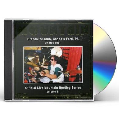 Mountain OFFICIAL BOOTLEG 11: BRANDWINE CLUB 1981 CD