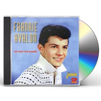 Frankie Avalon FIRST 5 ALBUMS CD