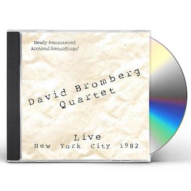 David Bromberg LIVE: NEW YORK CITY 1982 CD