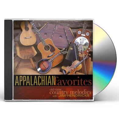 Jim Hendricks APPALACHIAN FAVORITES CD