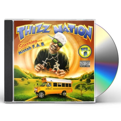 Mistah Fab MAC DRE PRESENTS THIZZ NATION 8 CD