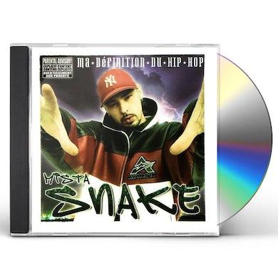 Mista Snake MA DEFINITION DU HIP HOP CD