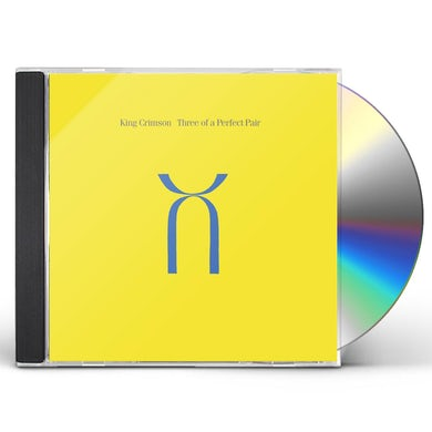 King Crimson THREE OF A PERFECT PAIR - 40TH ANNIVERSARY EDITION CD