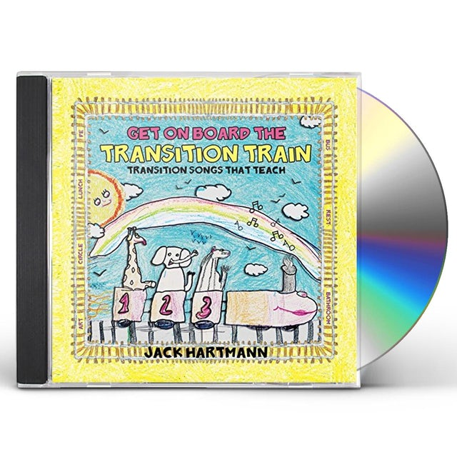 Jack Hartmann GET ON BOARD THE TRANSITION TRAIN CD