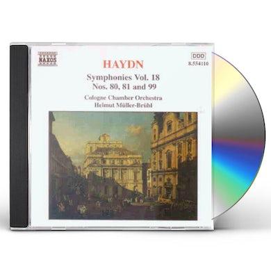 Haydn SYMPHONIES 80, 81 & 99 CD