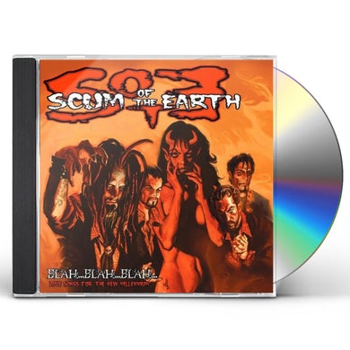 Scum of the Earth BLAH BLAH BLAH LOVE SONGS FOR THE NEW MILLENNIUM CD