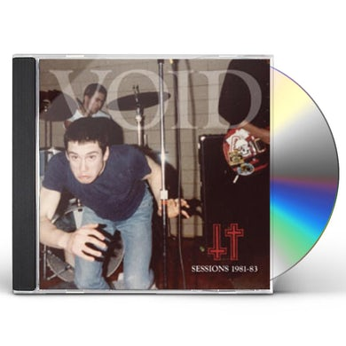 Void SESSIONS 1981-83 CD