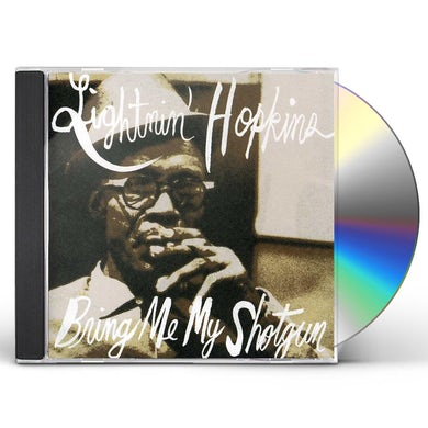 Lightnin Hopkins BRING ME MY SHOTGUN CD