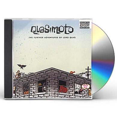 Quasimoto FURTHER ADVENTURES OF LORD QUAS CD
