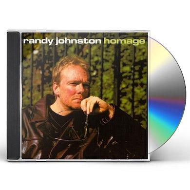 Randy Johnston HOMAGE CD