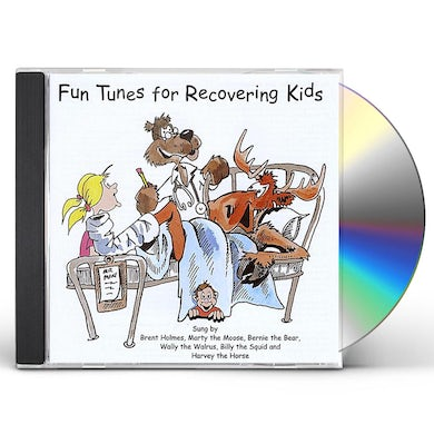 Brent Holmes FUN TUNES FOR RECOVERING KIDS CD