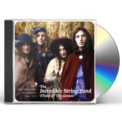 Incredible String Band TRICKS OF THE SENSES RARE & UNRELEASED 1966-1972 CD