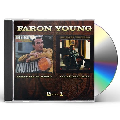 HERE'S FARON YOUNG / OCCASIONAL WIFE CD