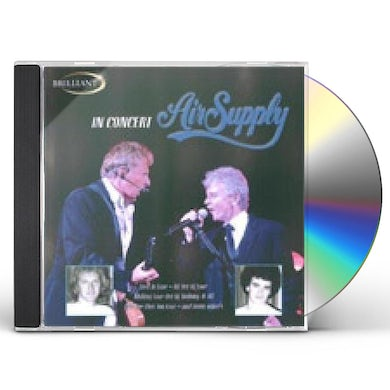 Air Supply IN CONCERT CD