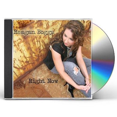 Reagan Boggs RIGHT NOW CD