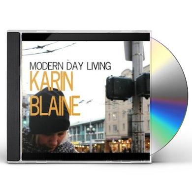 Karin Blaine MODERN DAY LIVING CD