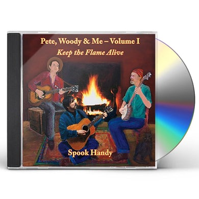 Spook Handy KEEP THE FLAME ALIVE CD