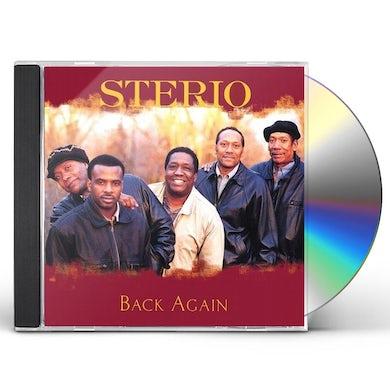 Sterio BACK AGAIN CD