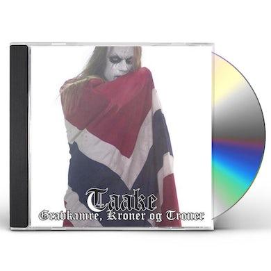 Taake GRAVKAMRE KRONER OG TRONER CD