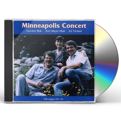 Gordon Bok / Ann Mayo Muir / Ed Trickett MINNEAPOLIS CONCERT CD