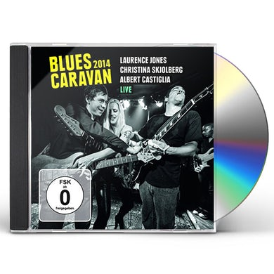 Laurence Jones BLUES CARAVAN 2014 CD