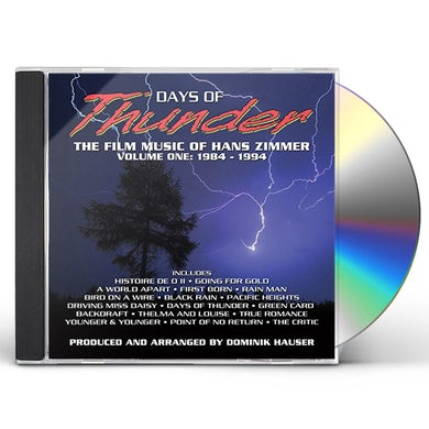 Hans Zimmer DAYS OF THUNDER / Original Soundtrack CD