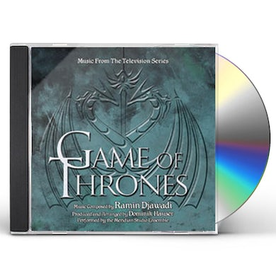 Dominik Hauser GAME OF THRONES: MUSIC FROM THE TELEVISION SERIES CD