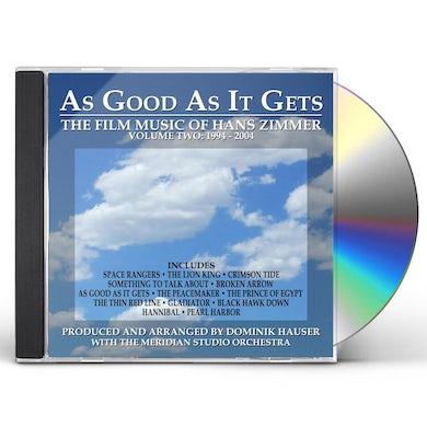 Dominik Hauser AS GOOD AS IT GETS: FILM MUSIC OF ZIMMER 2 - Original Soundtrack CD