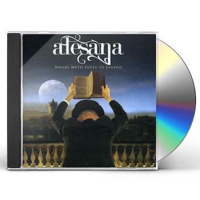 Alesana WHERE MYTH FADES TO LEGEND CD