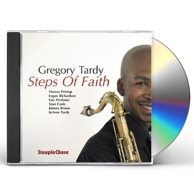 Gregory Tardy STEPS OF FAITH CD