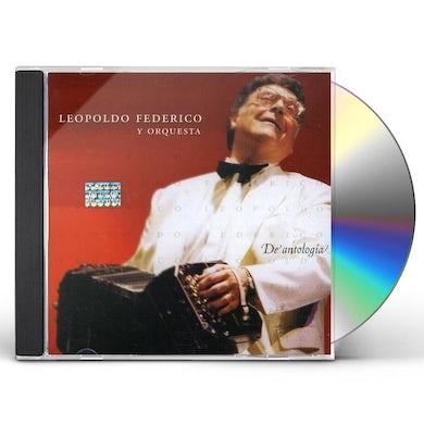 Leopoldo Federico DE ANTOLOGIA CD