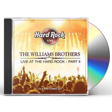 Williams Brothers LIVE AT THE HARD ROCK 2 CD