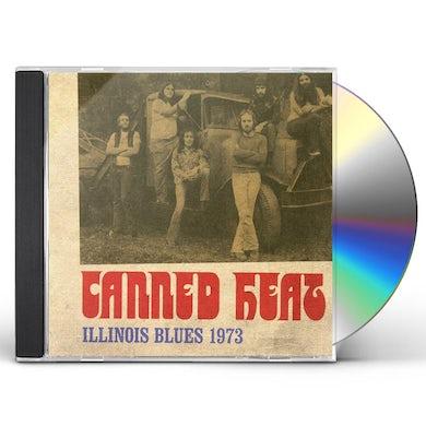 Canned Heat ILLINOIS BLUES 1973 CD