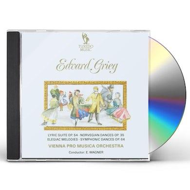 Grieg LYRIC SUITE CD