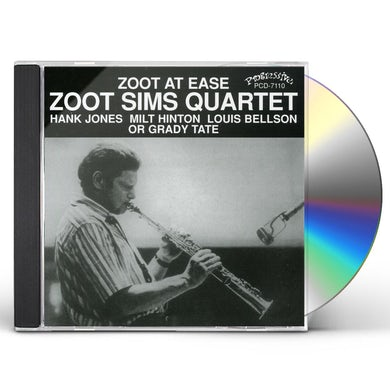 Zoot Sims ZOOT AT EASE CD