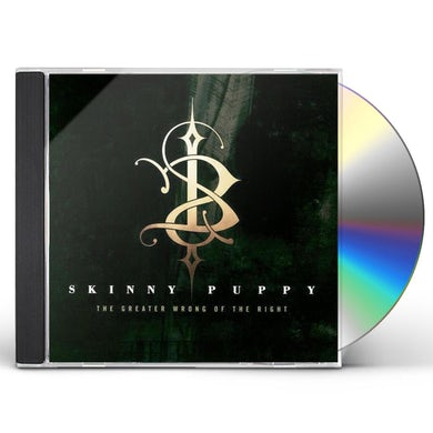 Skinny Puppy GREATER WRONG OF THE RIGHT CD
