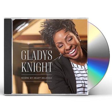 Gladys Knight WHERE MY HEART BELONGS CD