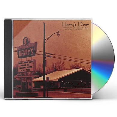Todd Adelman HENRY'S DINER CD