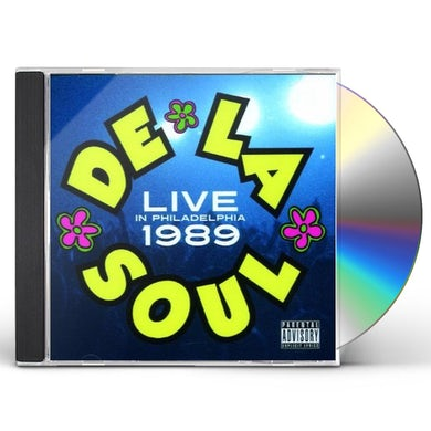 De La Soul LIVE AT THE CHESTNUT CABARET-PHILADELPHIA 1989 CD