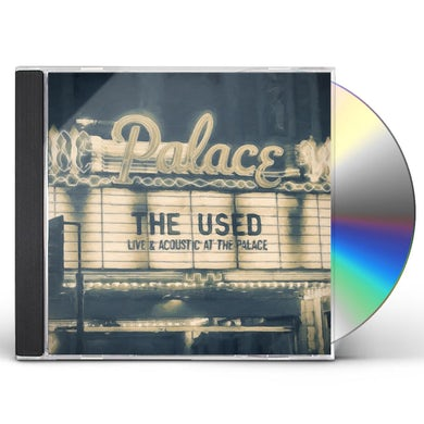 The Used LIVE & ACOUSTIC AT THE PALACE CD