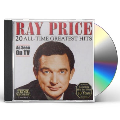 Ray Price 20 ALL TIME GREATEST HITS CD