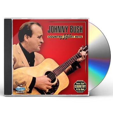 Johnny Bush COUNTRY CHART HITS CD