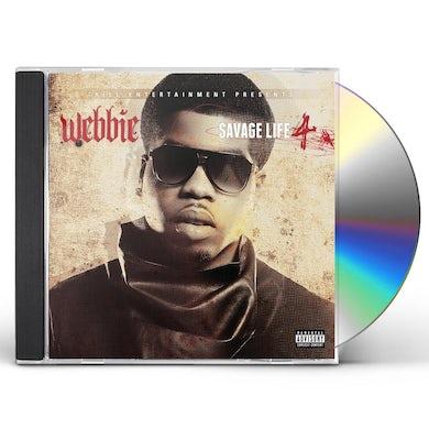 Webbie SAVAGE LIFE 4 CD
